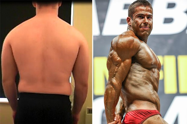 how to turn my body fat into muscle